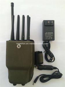 New Nylon Bag 8 Bands Portable Wireless Mobile Phone Signal Jammer GPS Jammer WiFi Lojack Jammer pictures & photos