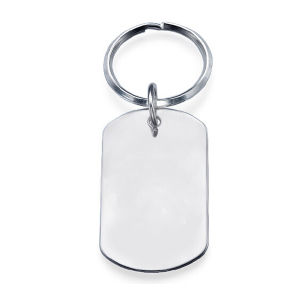 Staming Personalized Stainless Steel Dog Tag Keyring pictures & photos