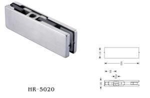 Upper Clamp Door Patch Fitting (HR-5020) pictures & photos