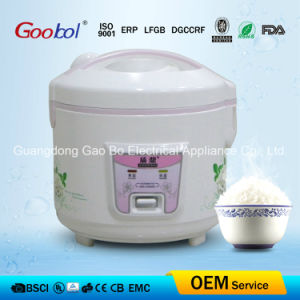 Flower Design Full Body Deluxe Rice Cooker with Steamer pictures & photos