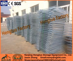 Heavy Duty Steel Wire Mesh Deck for Warehouse Pallet Rack pictures & photos