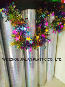 Rigid Hologram /Laser PVC Film for Christmas Decorations pictures & photos