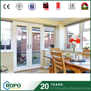 House Interior PVC Profile Glass Swing Door for Dining Room pictures & photos