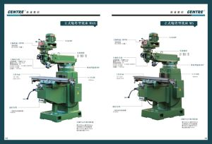 Turret Milling Machine pictures & photos
