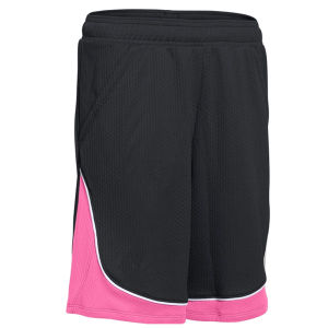 Men Soccer Shorts with Contrast Fabric Insert pictures & photos