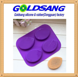 Leaf Shaped Silicone Mould Silicone Rubber Soap Mold pictures & photos