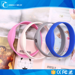 NFC Silicone Waterproof RFID Wristbands Tag for Gym/Water Park pictures & photos