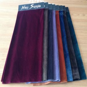 100% Polyester Soft Crushed Velvet Fabric for Upholstery Furniture Fabric Sofa Fabric pictures & photos