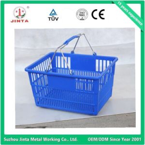 Factory Direct Plastic Shopping Basket pictures & photos
