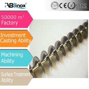 Guangdong Stainles Steel Investment Casting Auger pictures & photos