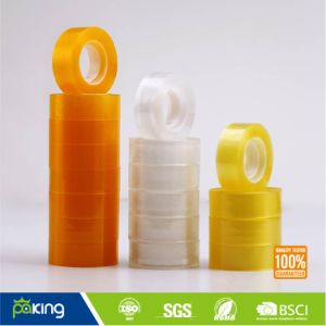 12 Rolls Shrink Transparent Adhesive School Stationery Tape pictures & photos