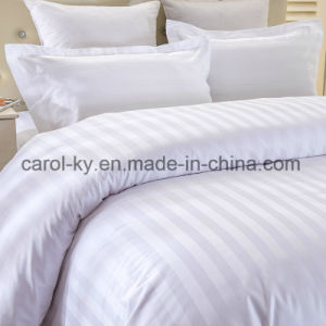 100% Cotton Hotel 1cm/2cm/3cm Striped Duvet Cover pictures & photos