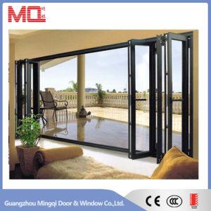 Thermal Break Aluminum Glass Folding Door pictures & photos
