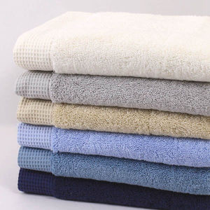 100% Cotton Bathroom Cotton Towel Set pictures & photos