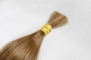 Brazilian Human Hair Bulk Hair Extension Silky Straight pictures & photos