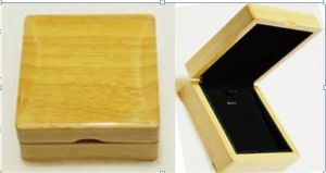 Oak (burlywood) Pendant Box