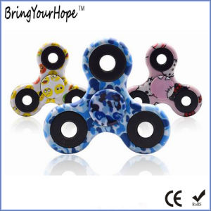 Cool Colorful Painting Fidget Spinner in Plastic (XH-HS-001C) pictures & photos