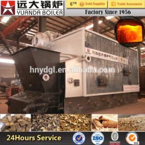 1-20ton Full-Automatic Double Drum Chain Grate Coal Biomass Husk Sawdust Palm Oil Shell Fired Biomass Steam Boiler pictures & photos