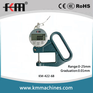 0-25mm Digital Thickness Gauges with 0.01mm Graduation an 50mm Throat Depth pictures & photos