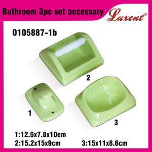 Wholesale Economic Ceramic Coloured Bathroom Accessories pictures & photos