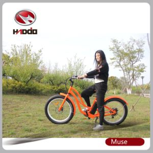 Fat Tire Hot Sale Beach Cruiser E-Bike for Lady pictures & photos