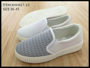 Latest Design Injection Shoes Comfort Shoes Slip-on Shoes (XHH417-13) pictures & photos