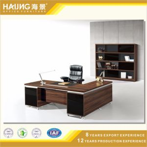Economical and Practical Executive Desk with Return Table