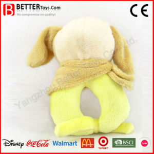 Stuffed Plush Animal Dog Toy Soft Baby Rattle pictures & photos
