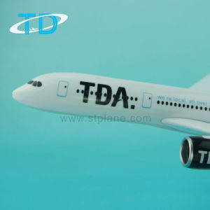 Tda A350 33cm Scale Aeroplane Plastic Model Airlines Souvenir Gift pictures & photos