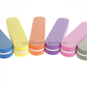Manicure Nails Art Short Buffer Files Sponge Beauty Tool (FF37) pictures & photos