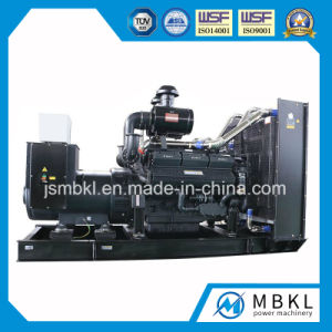 Power Plant Shangchai Diesel Engine 300kw/375kVA Open Type Electric Power Genset pictures & photos