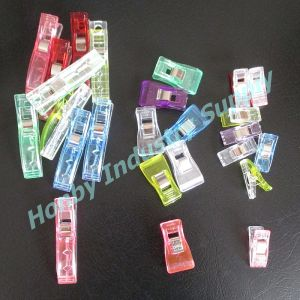 Hand Sewing Fabric Binding 27mm Translucent Quilting Sewing Plastic Wonder Clip pictures & photos