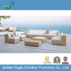 Luxury Outdoor PE Rattan Sofa Set