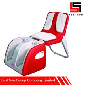 Portable Multifunctional Electric Full Body Massage Chair pictures & photos