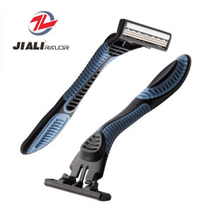 3 Blade Disposable Razor Stainless Steel pictures & photos