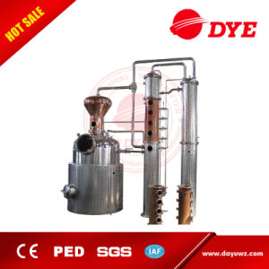 Used Discontinuous Industrial Pot Still Distillation Equipment pictures & photos