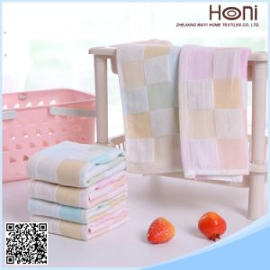 High Quality Cotton Face Towel and Hotel Towel Model No FT101802 pictures & photos
