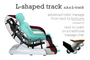 Hengde HD-812 SL-Track Zero Gravity Massage Chair pictures & photos