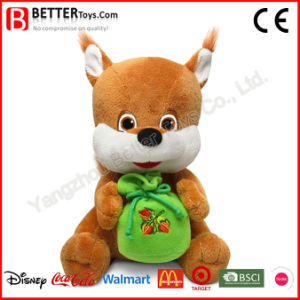 Gift Plush Doll Stuffed Animal Soft Squirrel Toy for Kids pictures & photos