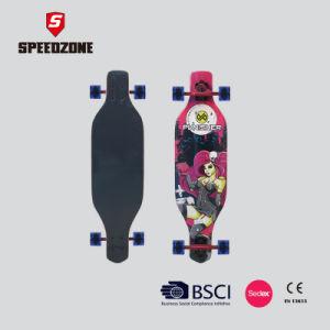 "Speedzone 34"" Chinese Maple Deck Freeride Longboard pictures & photos"