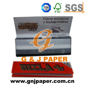 Good Quality King Size Smoking Paper in Blue Packing pictures & photos