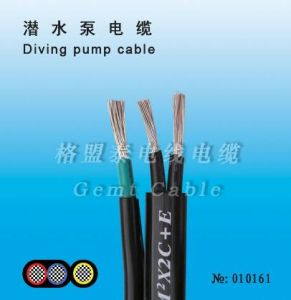 25mm Power Submersible Pumps Cable in Wells pictures & photos