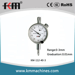 0-3mm Small Dial Indicator with 0.01mm Graduation pictures & photos