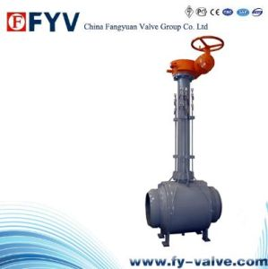 Turbine One Piece Fully Welded Ball Valve pictures & photos