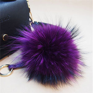 Wholesale 9cm Raccoon Fur Balls / POM Poms for Beanie pictures & photos