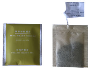 OEM Organic Green Tea Bag (80teabags/package) pictures & photos