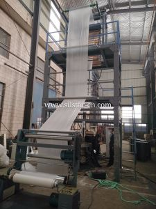 PLC Controlled Automatic Changer Roll Film Blowing Machine pictures & photos