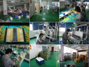 LC Upc to LC Upc Duplex Single Mode Fiber Optic Armored Cable pictures & photos