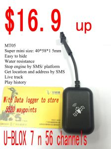 Waterproof Motorbike GSM Car Alarm/Motorcycle GPS Tracker (MT05-K) pictures & photos
