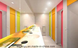 Compact Sheet Panel Service Area Toilet Partition pictures & photos